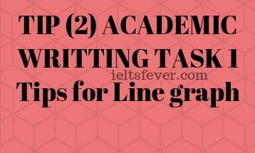 TIP (2) ACADEMIC WRITTING TASK 1 Tips for Line graph
