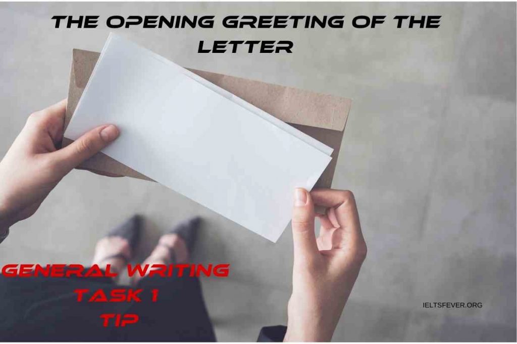 TIP(5) TASK 1--The Opening Greeting of the Letter
