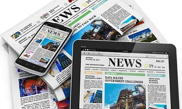News editors decide what to broadcast on television and what to print in newspapers