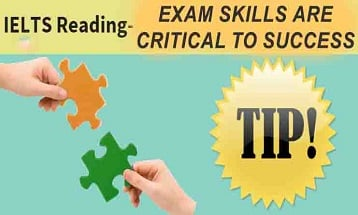 IELTS Reading Tip: Exam skills are critical to success