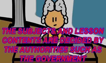 The subjects and lesson contents are decided by the authorities such as the government.  Some people argue that teachers should make the choice. Do you agree or disagree?