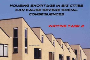 Housing Shortage in Big Cities can Cause Severe Social Consequences