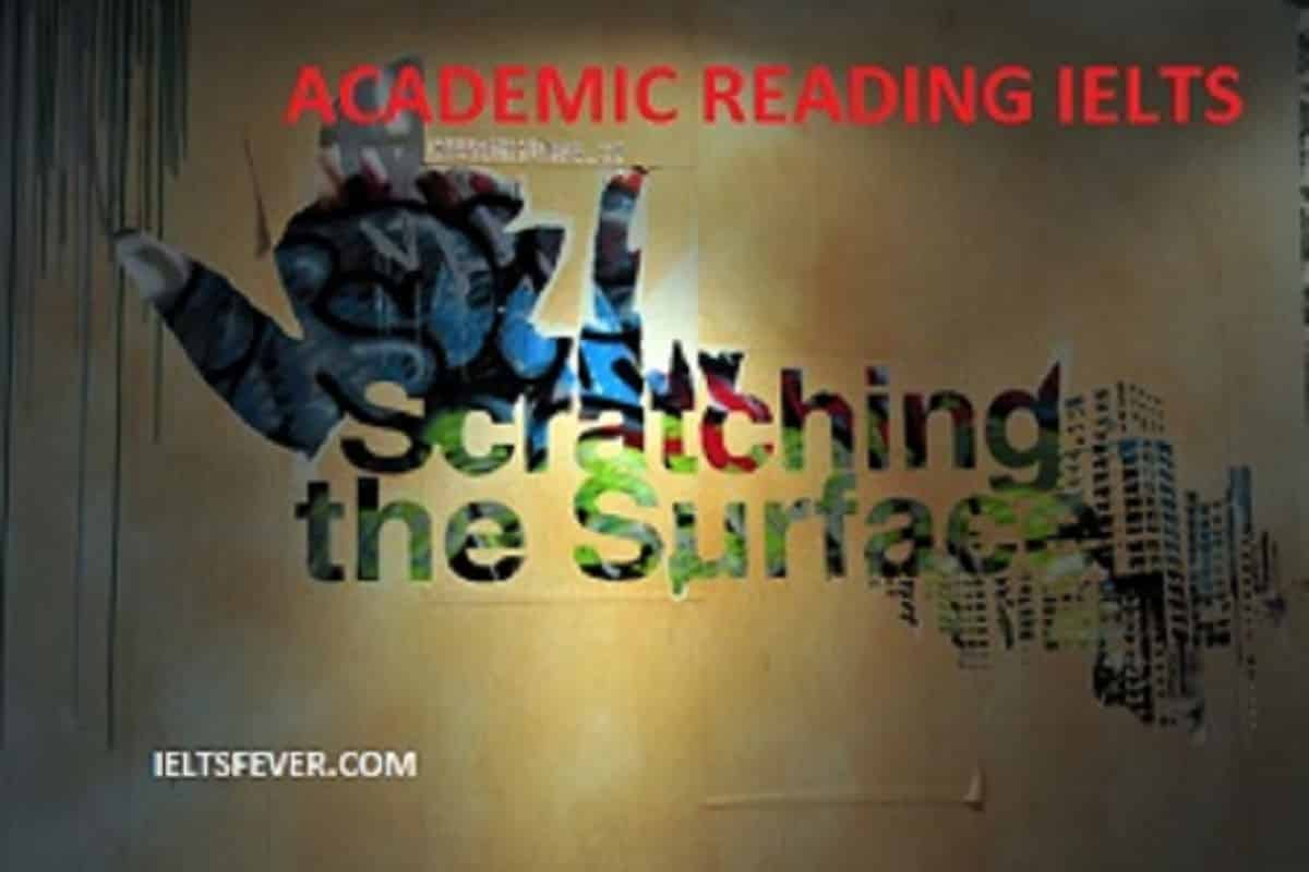 ACADEMIC READING Archives - IELTS FEVER