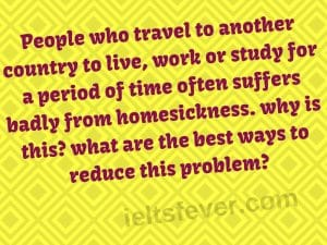 People who travel to another country to live, work or study for a period