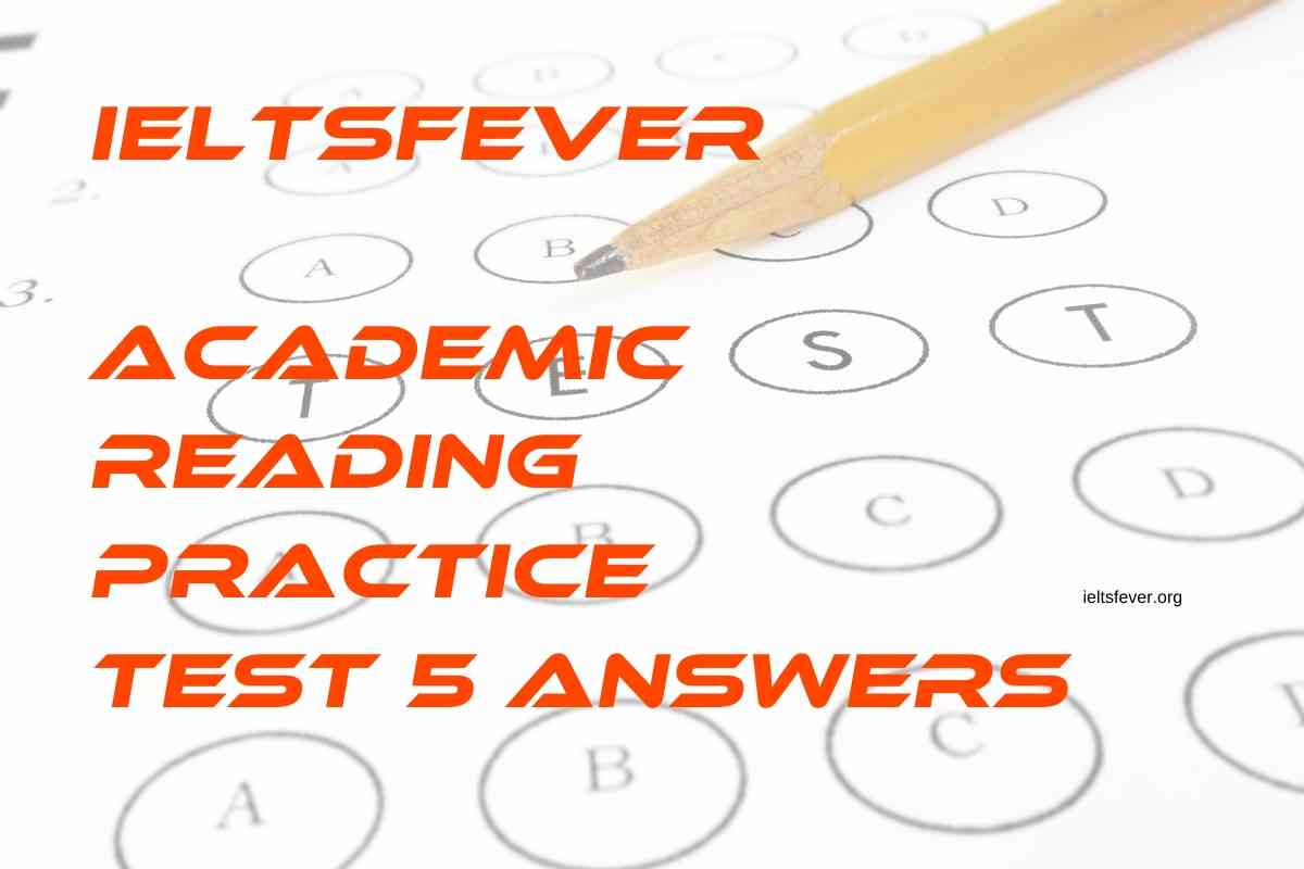 reading practice test 5 answers