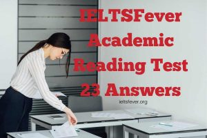 IELTSFever Academic Reading Test 23 Answers Jupiter's Bruises, Fashion, and Society, Mass Product
