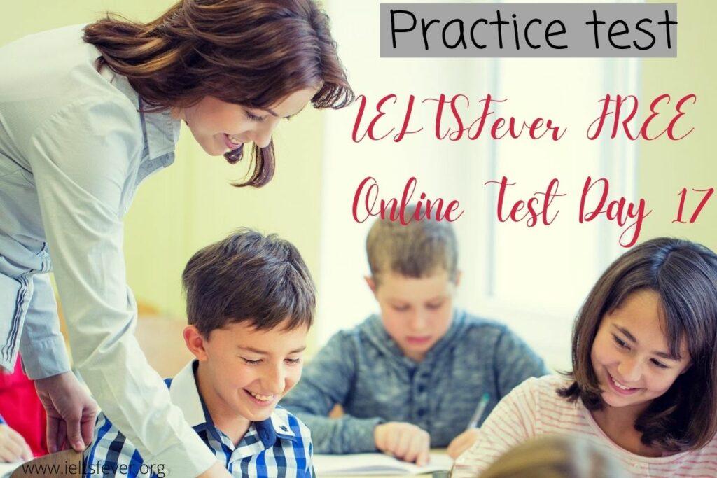 IELTSFever FREE Online Test Day 18(21-08-2020) Answer