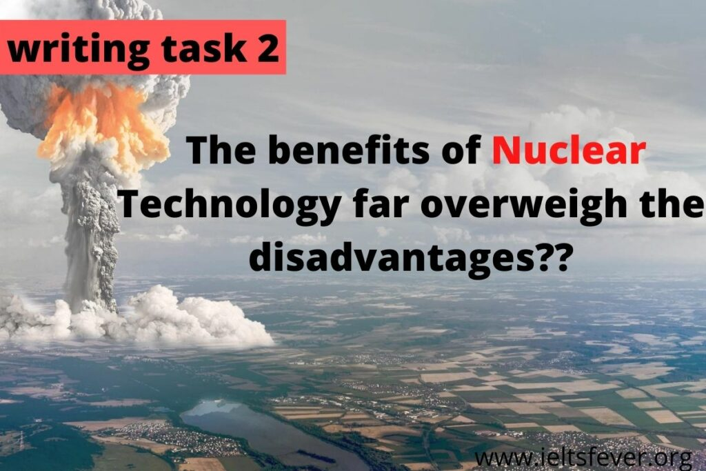 The threat of nuclear weapons maintains world peace. Nuclear power provides cheap and clean energy.