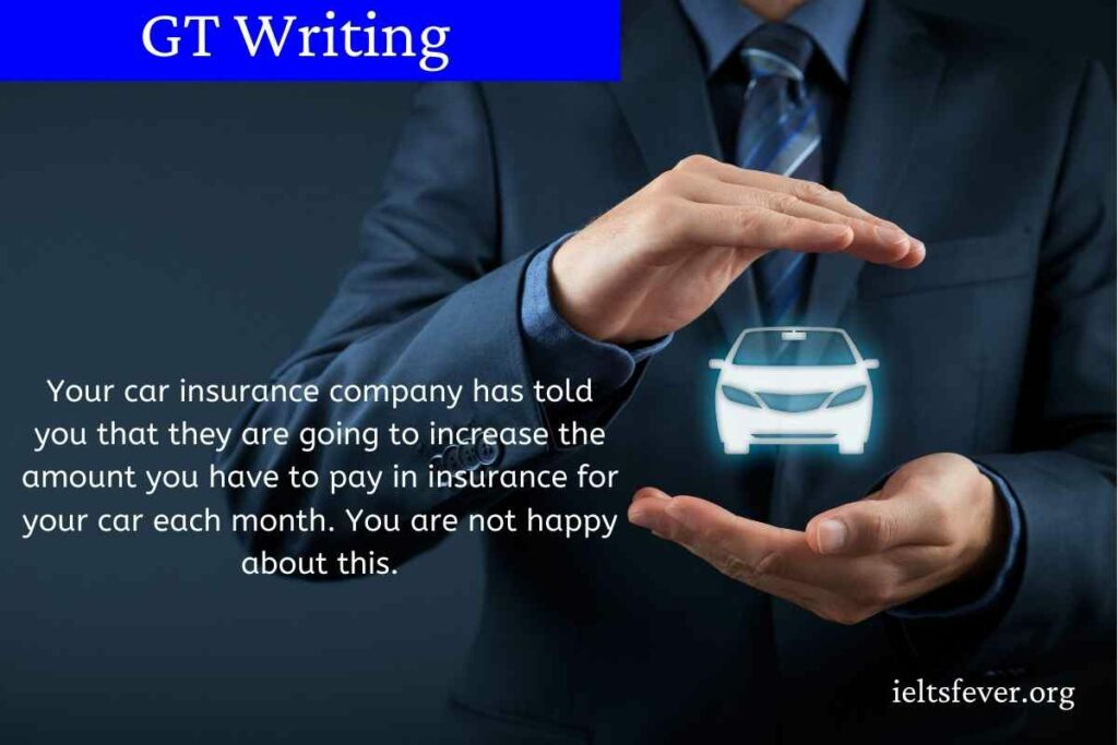 Your car insurance company has told you that they are going to increase