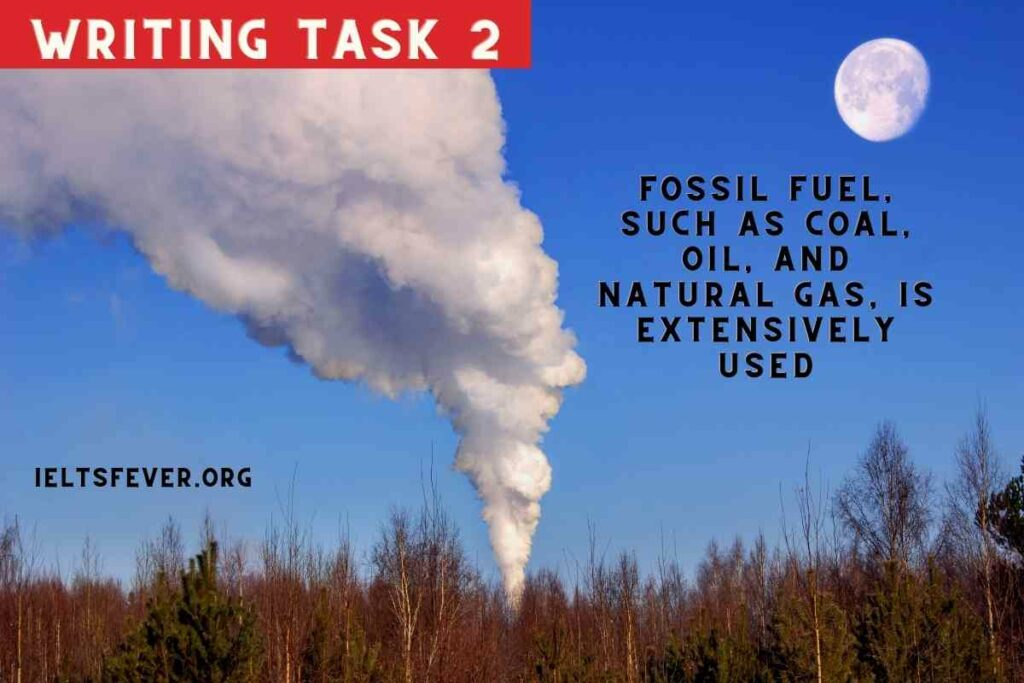 Fossil fuel, such as coal, oil, andnatural gas, is extensively used
