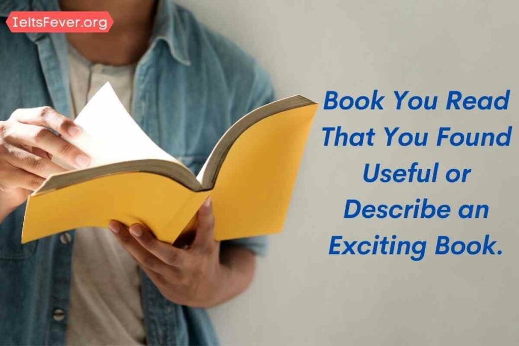 Book You Read That You Found Useful or Describe an Exciting Book. about kane and abel