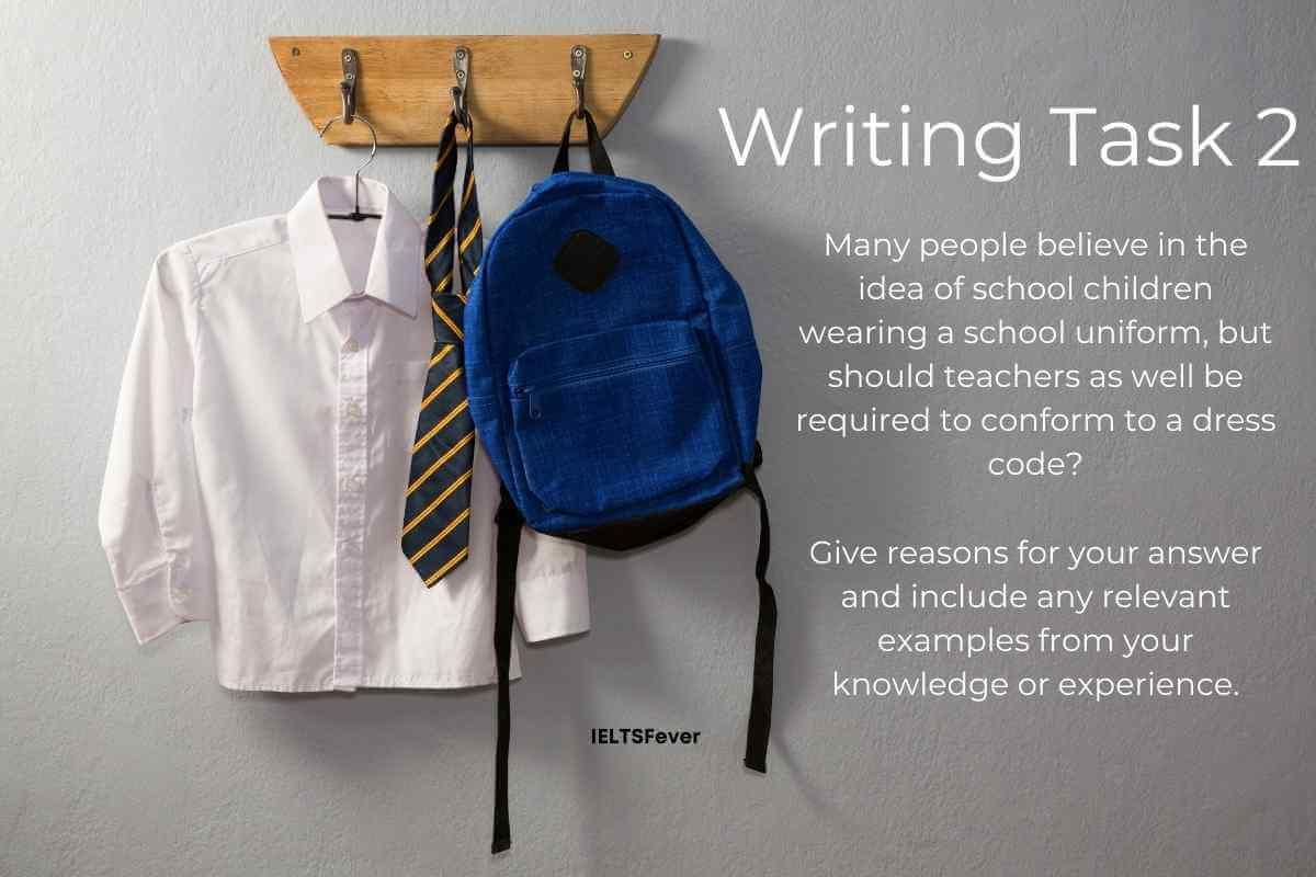 The Idea of School Children Wearing a School Uniform