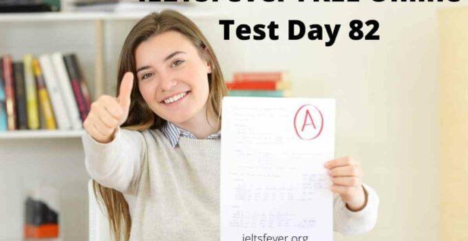 IELTSFever FREE Online Test Day 82