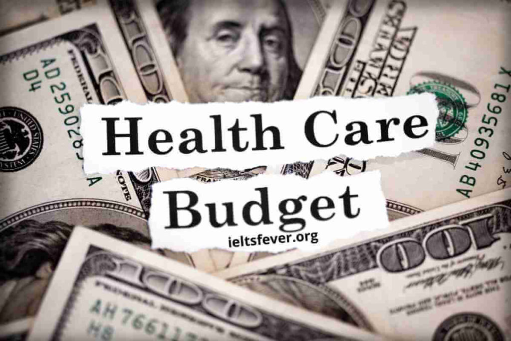 """""""Prevention Is Better Than Cure."""" Out Of a Country's Health Budget (1)"""